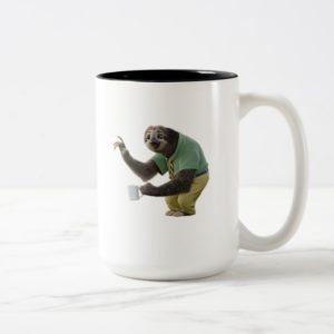 Zootopia | A Working Sloth Two-Tone Coffee Mug