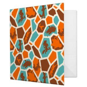 Zootopia   Animal Print Pattern Binder