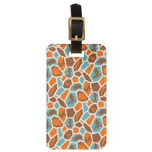 Zootopia | Animal Print Pattern Luggage Tag