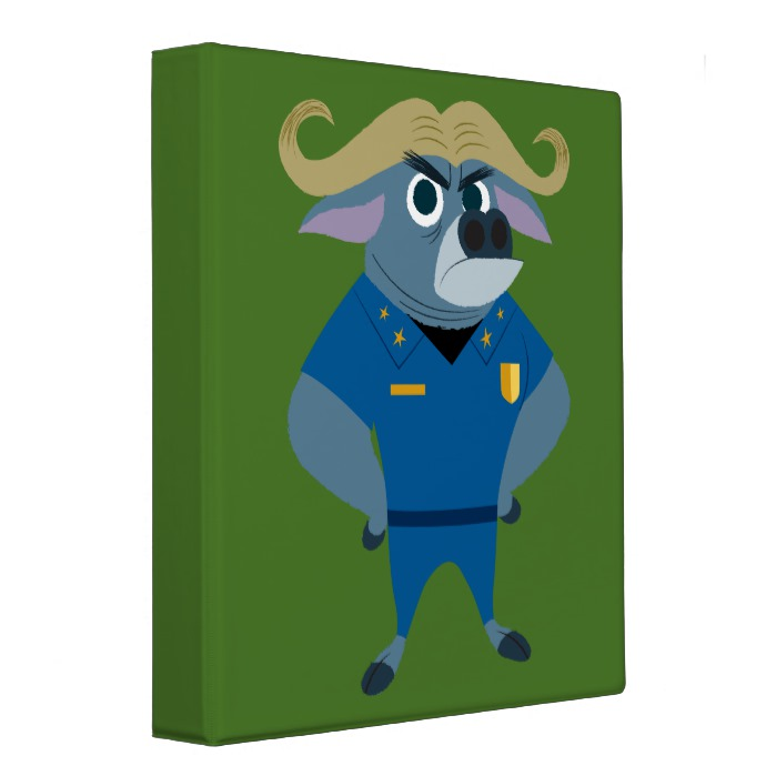 Chief Bogo Binder - Custom Fan Art