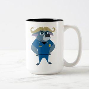 Zootopia | Chief Bogo Two-Tone Coffee Mug