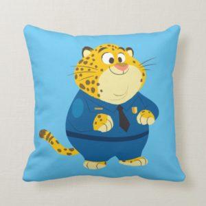 Zootopia | Clawhauser Throw Pillow