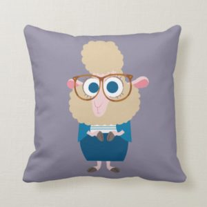 Zootopia | Deputy Mayor Bellwether Throw Pillow