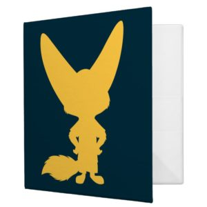 Zootopia | Finnick Silhouette 3 Ring Binder