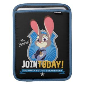 Zootopia | Judy Hopps - Join Today! iPad Sleeve