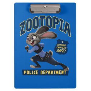 Zootopia   Judy Hopps - Keeping Critters Safe! Clipboard