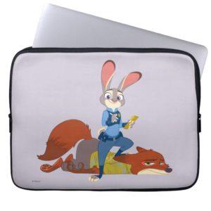 Zootopia | Judy Hopps & Nick Wilde - Busted! Laptop Sleeve