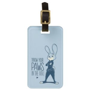 Zootopia | Judy Hopps - Paws in the Air! Luggage Tag