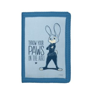 Zootopia   Judy Hopps - Paws in the Air! Tri-fold Wallet