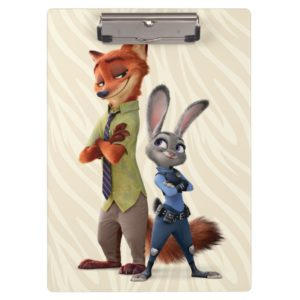 Zootopia | Judy & Nick Best Buddies Clipboard