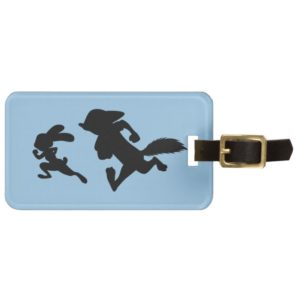 Zootopia   Judy & Nick Running Silhouette Luggage Tag