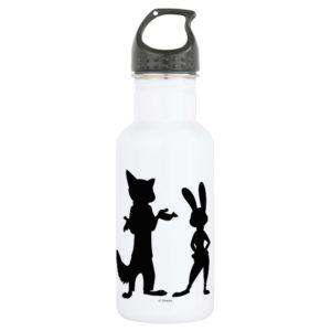 Zootopia | Judy & Nick Silhouette Water Bottle