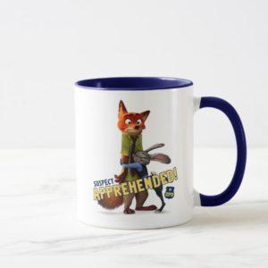 Zootopia   Judy & Nick - Suspect Apprehended! Mug