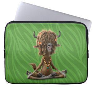 Zootopia | Meditate with Yax Laptop Sleeve