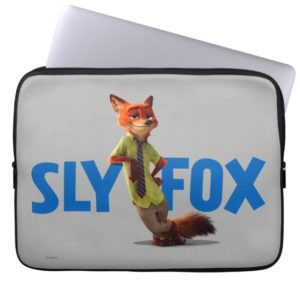 Zootopia | Nick Wilde - One Sly Fox Computer Sleeve
