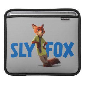 Zootopia   Nick Wilde - One Sly Fox Sleeve For iPads