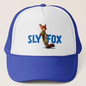 Zootopia   Nick Wilde - One Sly Fox Trucker Hat