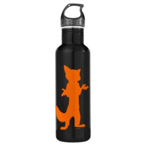 Zootopia | Nick Wilde Silhouette Stainless Steel Water Bottle