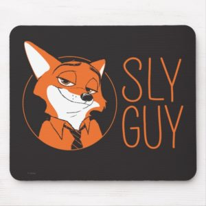 Zootopia | Nick Wilde - Sly Guy Mouse Pad