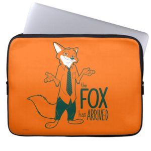 Zootopia | Nick Wilde - The Fox has Arrived Computer Sleeve