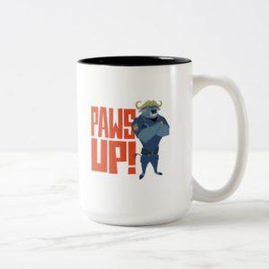 Zootopia   Paws Up! Two-Tone Coffee Mug