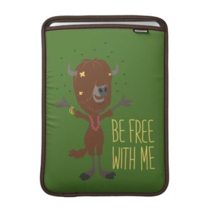 Zootopia | Yax - Be Free with Me Sleeve For MacBook Air