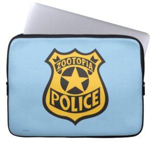 Zootopia   Zootopia Police Badge Computer Sleeve