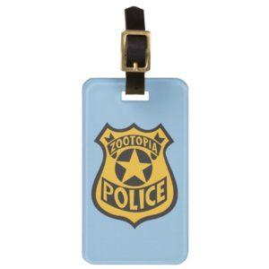 Zootopia | Zootopia Police Badge Luggage Tag