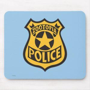 Zootopia | Zootopia Police Badge Mouse Pad