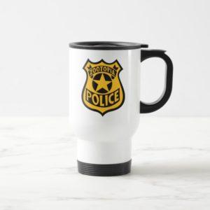 Zootopia   Zootopia Police Badge Travel Mug