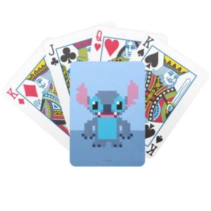8-Bit Stitch Bicycle Playing Cards