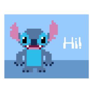 8-Bit Stitch Postcard