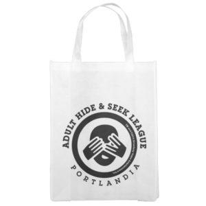 Adult Hide & Seek League Reusable Grocery Bag