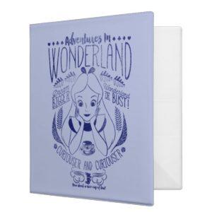 Alice | Adventures In Wonderland 3 Ring Binder