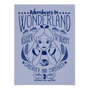Alice | Adventures In Wonderland Poster