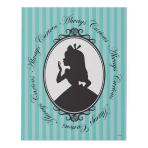 Alice | Always Curious Panel Wall Art