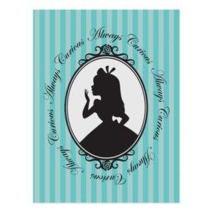 Alice | Always Curious Postcard