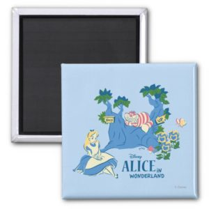Alice and Cheshire Cat Magnet