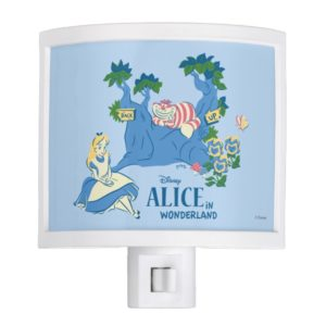 Alice and Cheshire Cat Night Light