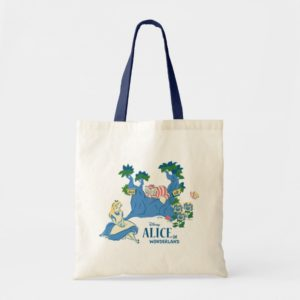 Alice and Cheshire Cat Tote Bag