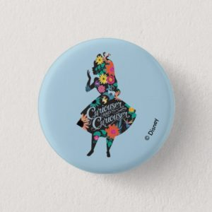 Alice | Curiouser and Curiouser Button