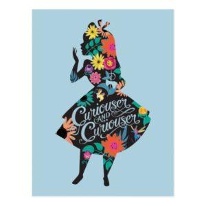 Alice   Curiouser and Curiouser Postcard