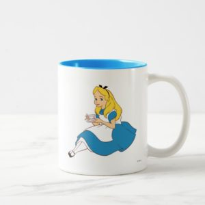 Alice Disney Two-Tone Coffee Mug