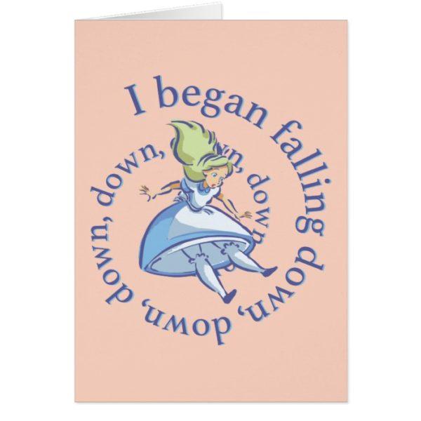 Alice   I Began Falling Down, Down, Down...