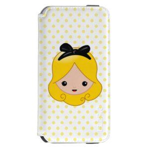 Alice in Wonderland   Alice Emoji Incipio iPhone Wallet Case