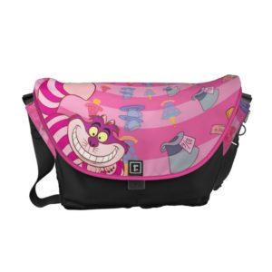 Alice in Wonderland   Cheshire Cat Smiling Messenger Bag
