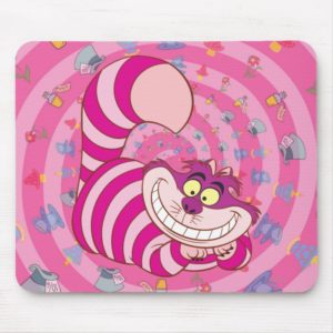 Alice in Wonderland | Cheshire Cat Smiling Mouse Pad