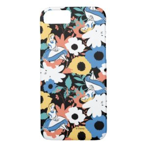 Alice in Wonderland Floral Retro Pattern Case-Mate iPhone Case