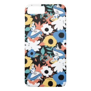 Alice in Wonderland Floral Retro Pattern Case-Mate iPhone Case