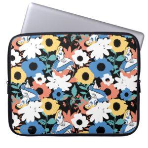 Alice in Wonderland Floral Retro Pattern Computer Sleeve